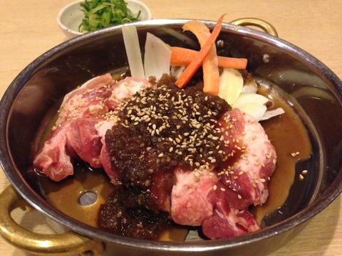 ガッツリ豚肉料理