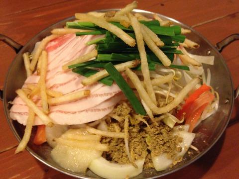 美味しいカレー鍋