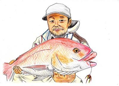 無料で似顔絵を描く大阪の福島に勤める居酒屋漫画家