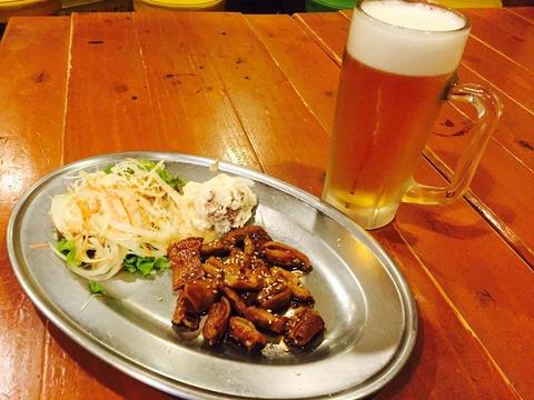 ホルモン焼きも美味しい大阪福島の居酒屋
