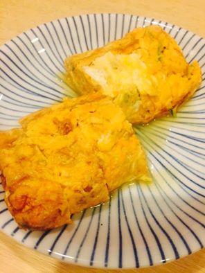 鹿児島産旨赤卵使用のだし巻き卵