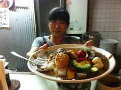 大阪福島でカレーライスを食べた後は豚料理居酒屋で決まり
