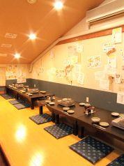 大阪福島(キタ圏内)にある豚の鍋とやきとん串がおすすめのグルメな居酒屋画像。三階