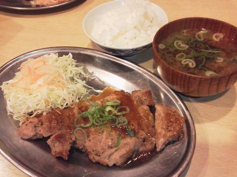 豚テキ定食