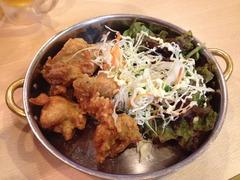 大阪福島の豚肉居酒屋が作る鶏のから揚げは美味しい