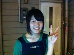 大福島の焼き鳥屋さんの看板娘