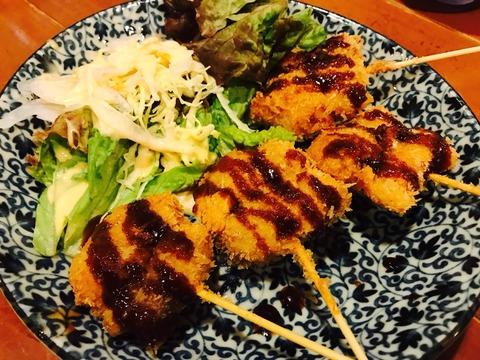 大阪福島区串カツが美味しい居酒屋