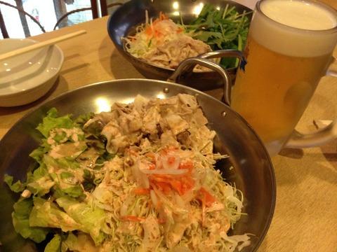 豚しゃぶも美味しい大阪福島の居酒屋