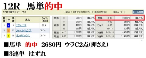 阪神12R