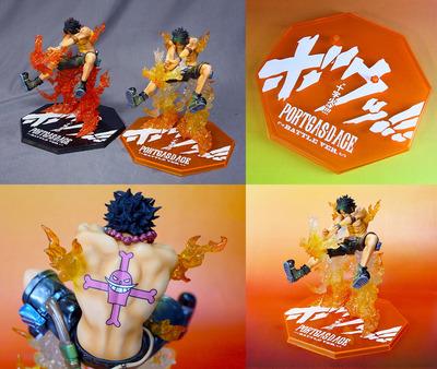 フィギュアーツZERO ポートガス・D・エース Battle Ver. 十字火 Special Color Edition