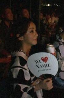 安室奈美恵 浴衣姿でお忍び来場 花火ショーを3万人と楽しみ引退