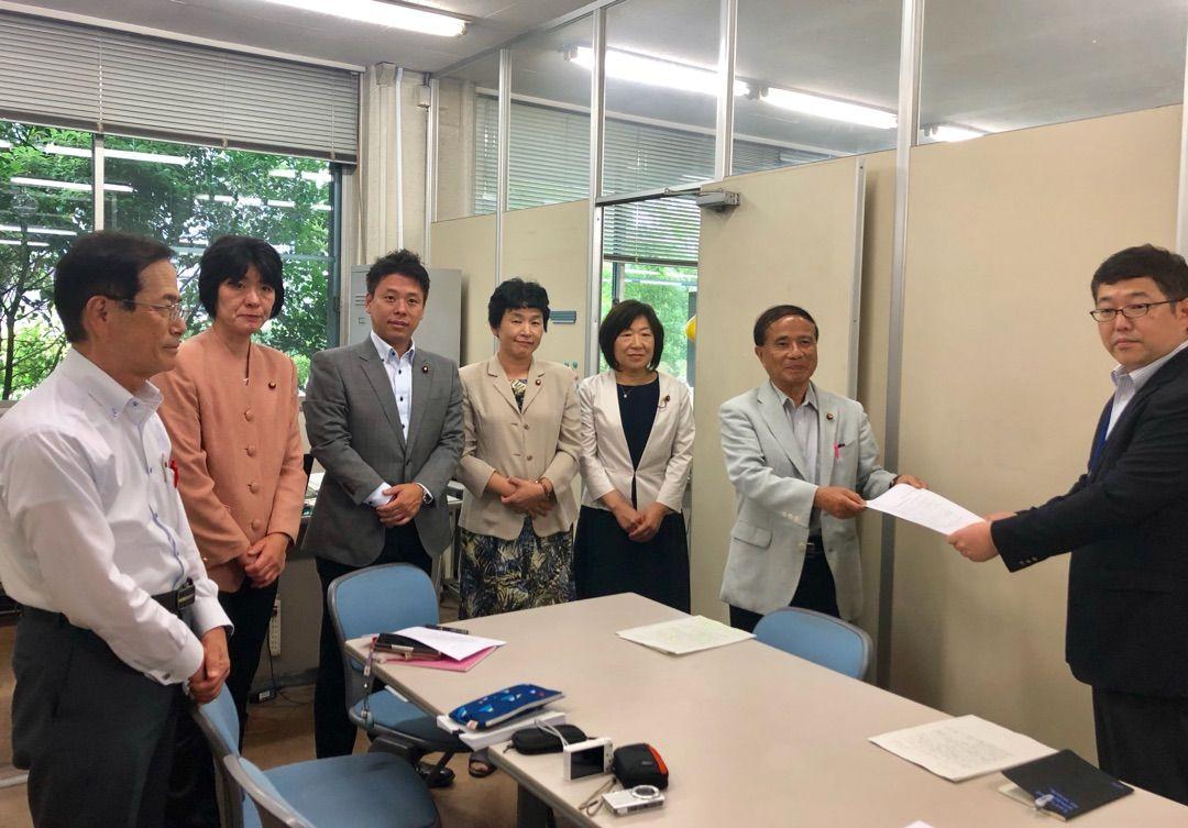 減らない生活できる年金へ改善を!千葉市長宛の要望書を提出しました!