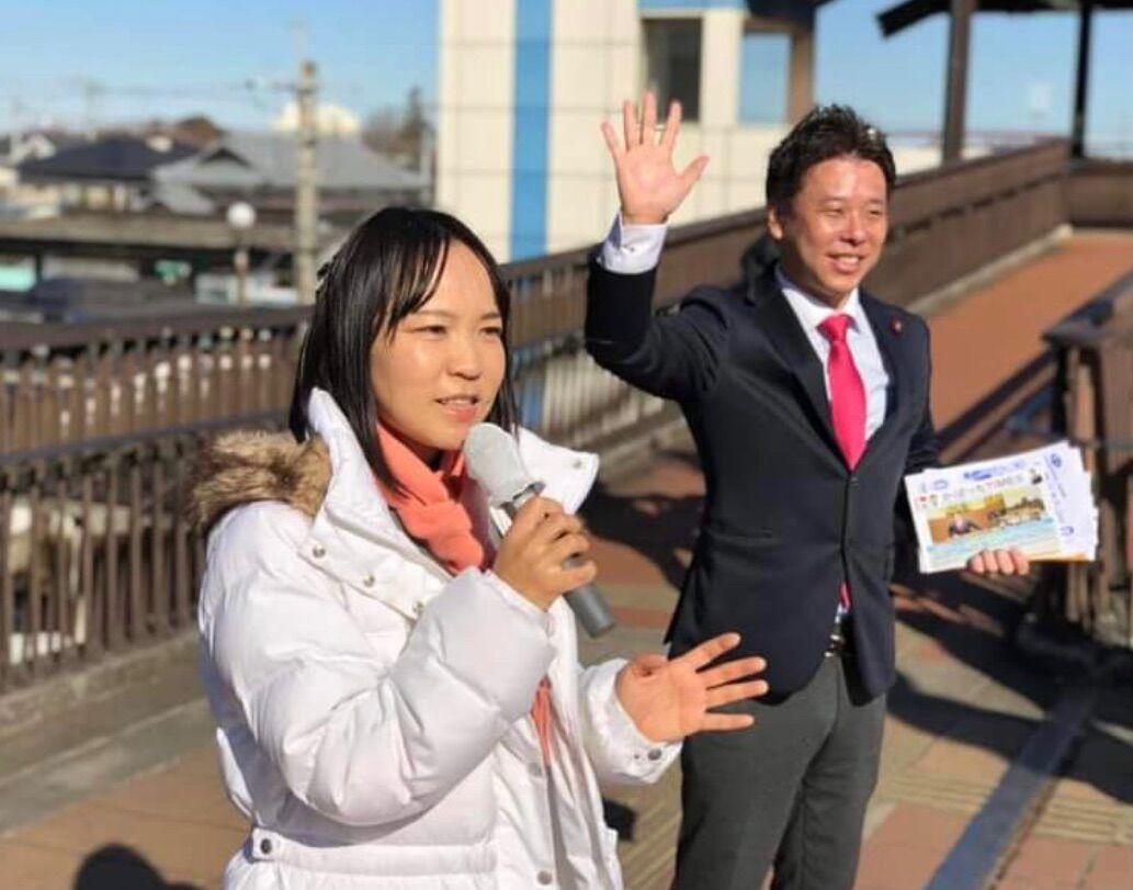 江田ちよさんが若葉区千葉市議会議員補欠選挙に立候補を表明!