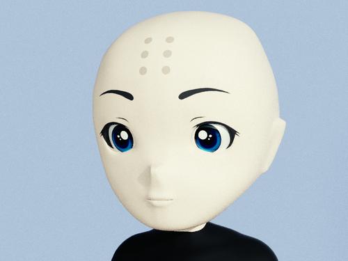 【3DCG】Blender リギング練習