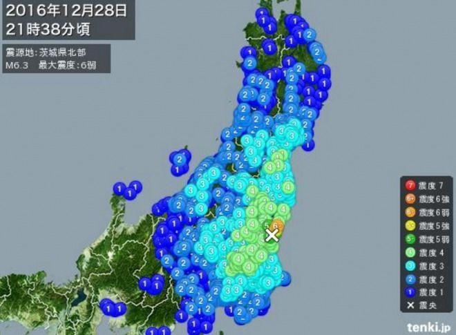 【速報】茨城県の東海原発、M6.3地震による損傷なし!福島第一原発も新たな被害報告はゼロ