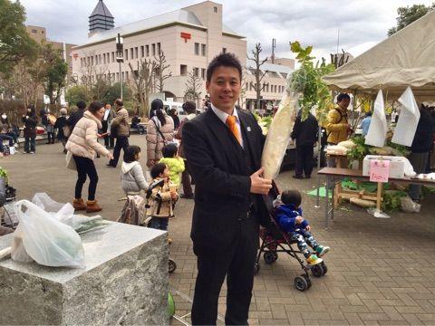 鎌取コミュニティ祭りへ!明大誉田農場跡地産業用地整備説明会に参加!