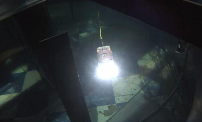 福島第一原発三号機、溶けた核燃料の一部を発見か!圧力容器につらら状の塊!ロボット調査
