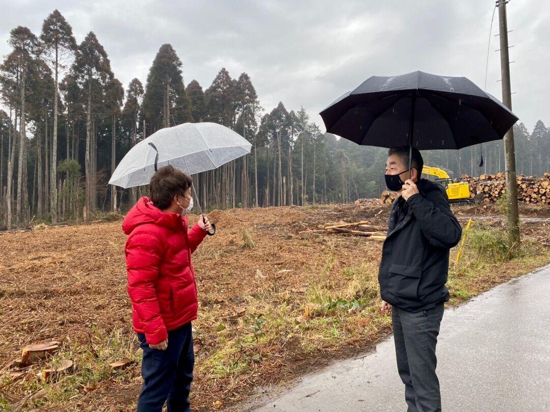 災害に強い千葉市をつくろう!災害に強い森づくり事業を視察しました!