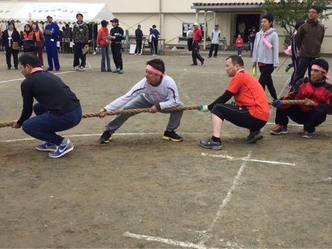 辺田第二自治会が優勝!平山小地区運動会に参加しました!
