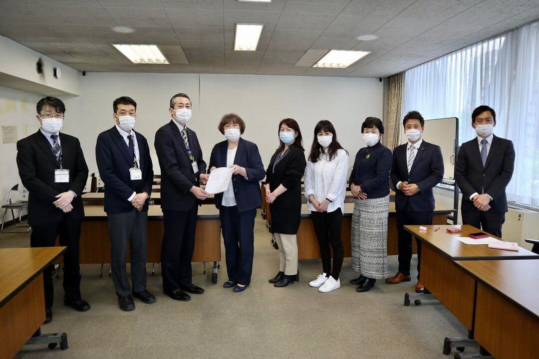 在宅介護従事者もワクチン優先接種の対象へ!千葉県民医連と要請しました