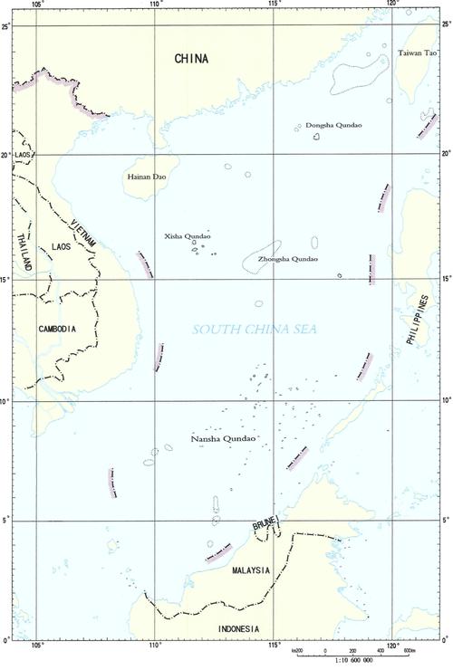 南シナ海:国際法に敗れた中国の三戦