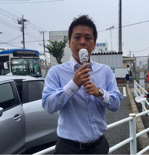 誉田駅で野党共闘!