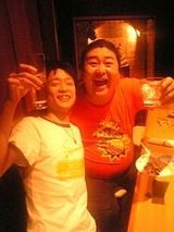 千綿偉功&トミー富岡氏