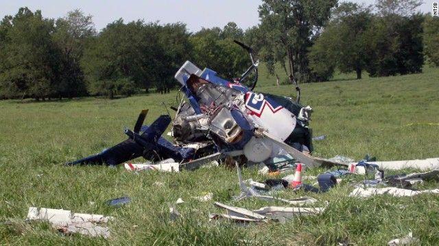 結婚式直後にヘリ墜落で新婚夫婦死亡…