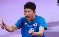 【卓球】張本、世界1位を破ったブラジル選手を下し決勝進出