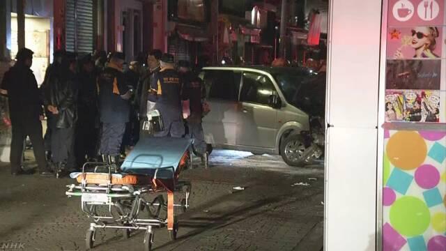 【竹下通り爆走】車から灯油入った容器!!( ; ロ)゚ ゚ 「大阪から来て暴走させた。死刑制度に対する報復」