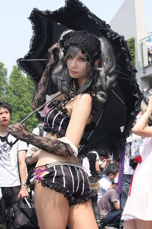 早稲田大の伝説的美少女コスプレイヤー撫子6