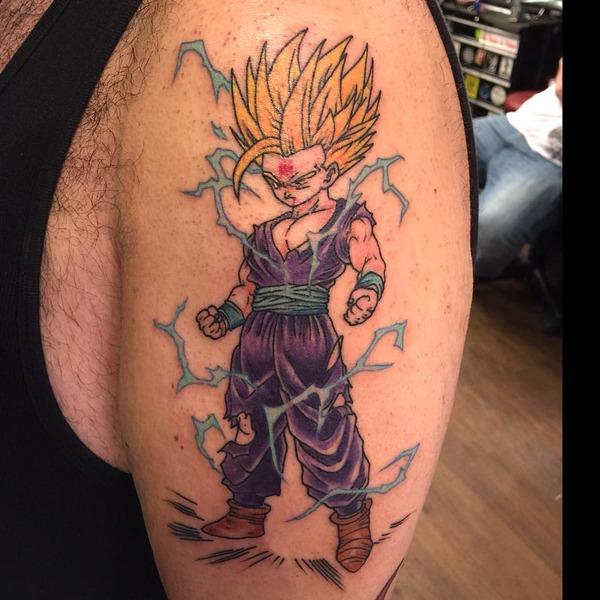 海外でアニメのタトゥーを入れる人達9