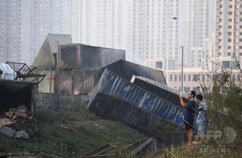 天津爆発23