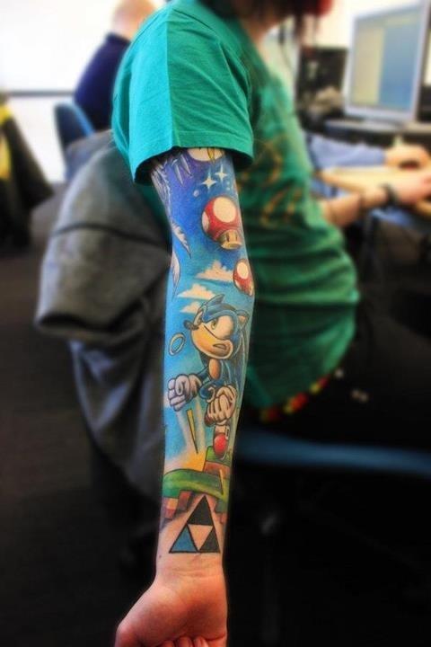 海外でアニメのタトゥーを入れる人達20