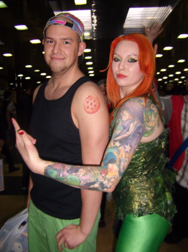 海外でアニメのタトゥーを入れる人達24