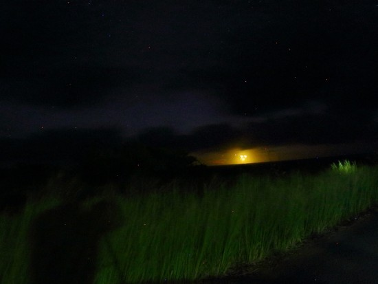 沖縄の石垣島にUFO2