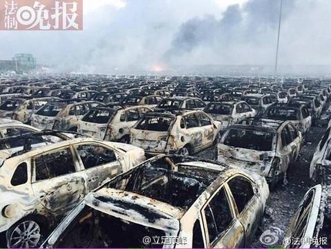天津爆発20