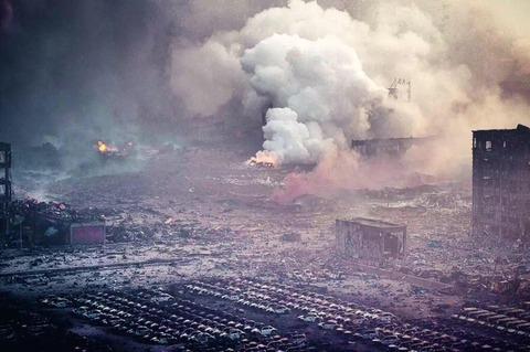天津爆発27