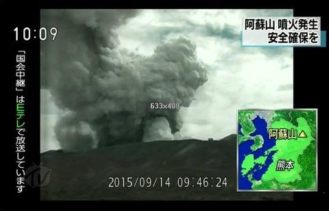 阿蘇山噴火4