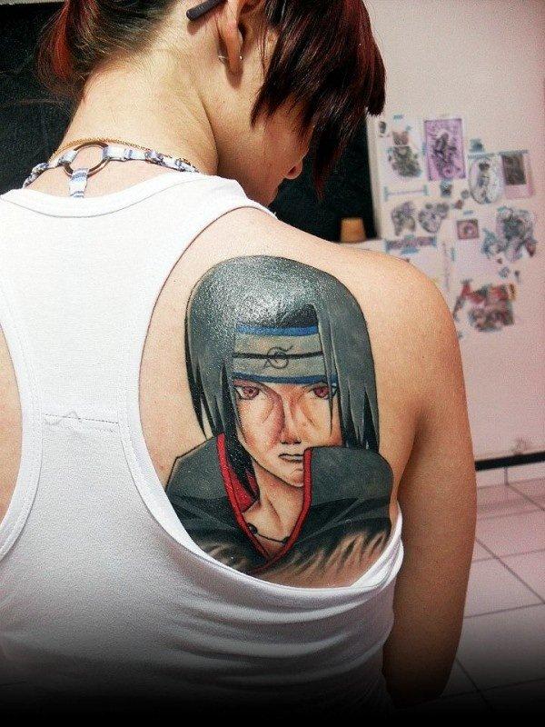 海外でアニメのタトゥーを入れる人達16