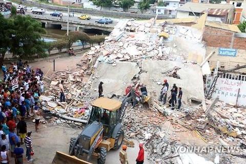 エクアドル地震1