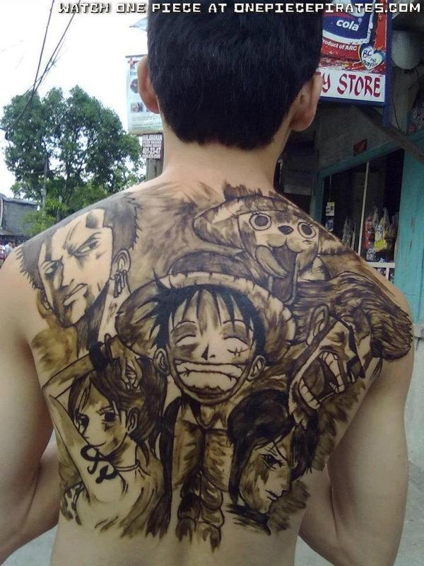 海外でアニメのタトゥーを入れる人達26