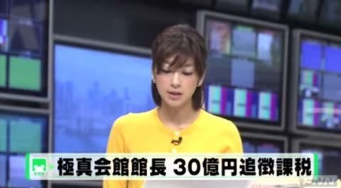 松井章圭30億脱税追徴金1