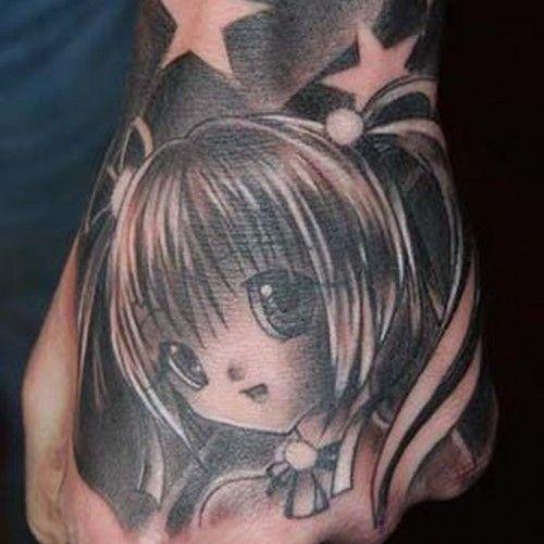 海外でアニメのタトゥーを入れる人達8