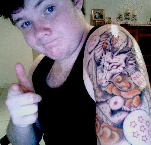 海外でアニメのタトゥーを入れる人達18