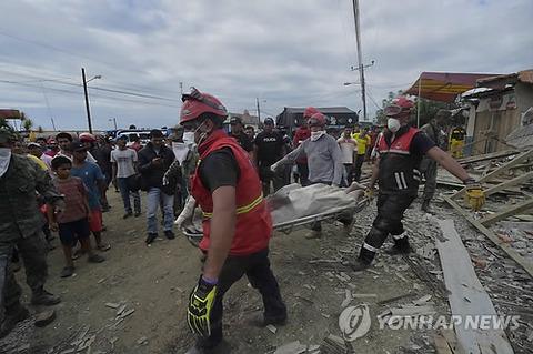 エクアドル地震3
