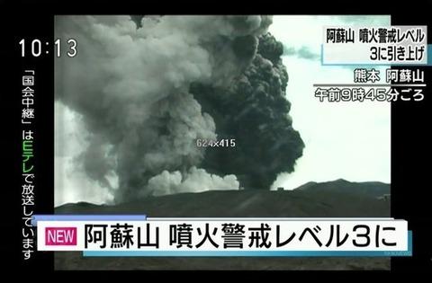 阿蘇山噴火3