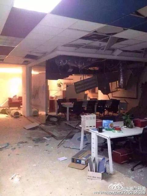 天津爆発15