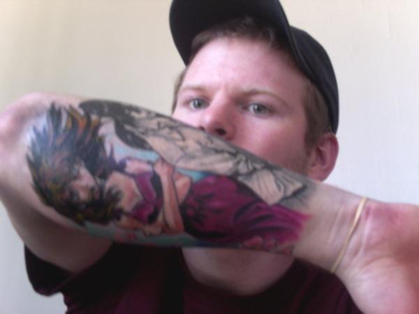 海外でアニメのタトゥーを入れる人達2