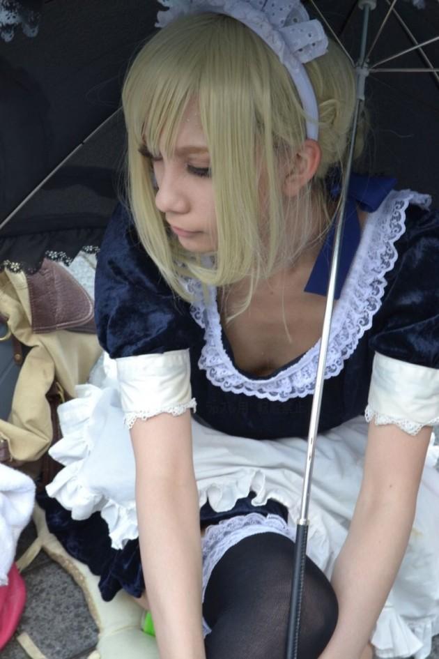 早稲田大の伝説的美少女コスプレイヤー撫子13